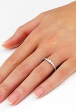 Verlobungsring Nine Diamonds Weißgold