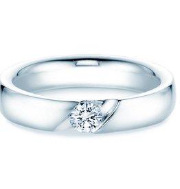 Verlobungsring Italic Silber