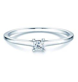 Verlobungsring Princess Silber