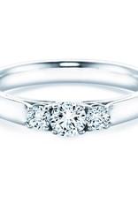 Verlobungsring 3 Stones Silber