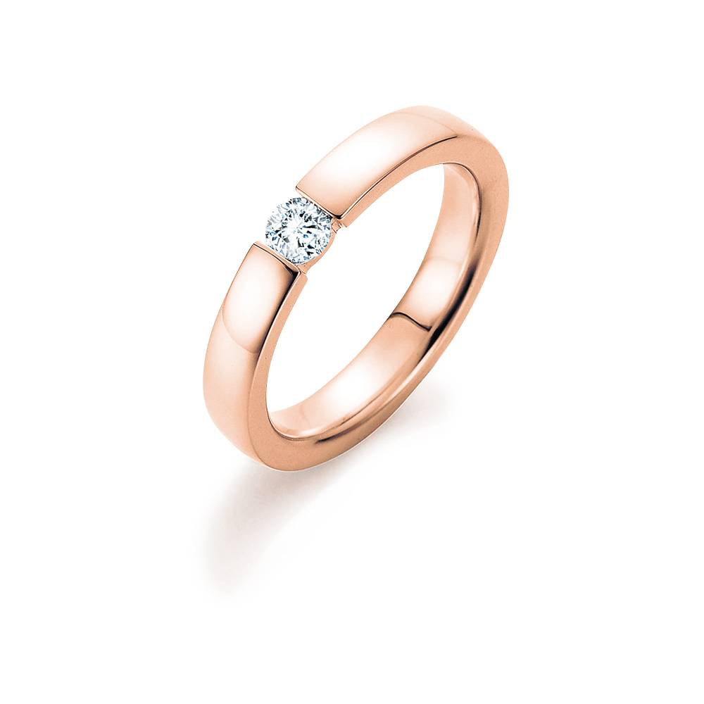 Verlobungsring Infinity Rotgold