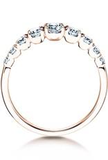 Verlobungsring Nine Diamonds Rotgold