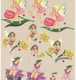 Romak 3D sheet Romak Ritva's Fairies