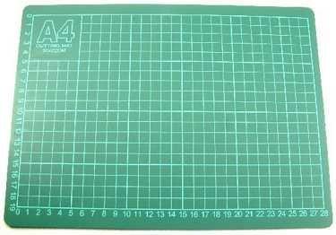 A4 cutting mat Grid