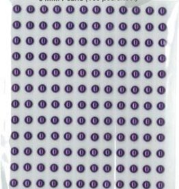 Hobbytheek Plak Parels Paars-Purple 5 mm