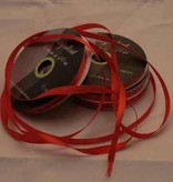 Central Craft Collection 3mm Satin Ribbon Red