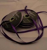 Central Craft Collection 3mm Satin ribbon Deep Purple
