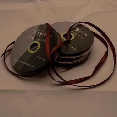 Central Craft Collection 3mm Satin Ribbon Brown