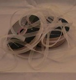 Central Craft Collection 3mm Ribbon Organza Elfenben