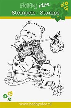Hobby Idee stempel Bears