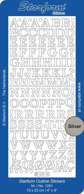 Starform Alphabet Capitals Medium