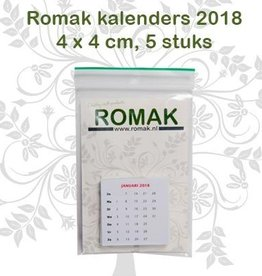 Romak Mini Calendar hollandsk