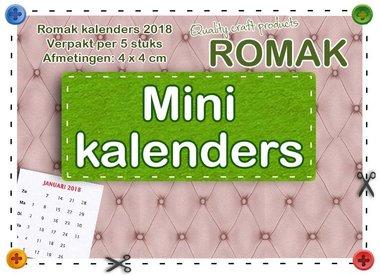 Romak Mini calendar