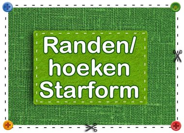 Randen/Hoeken Starform