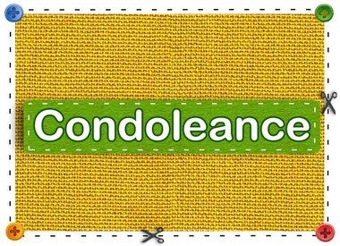 Condolence