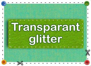 Gennemsigtig Glitter