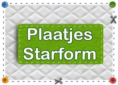 Plaatjes-Starform