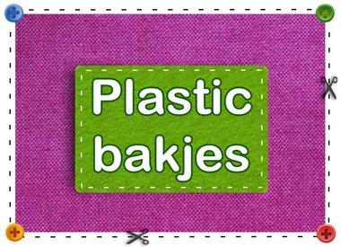Des récipients en plastique