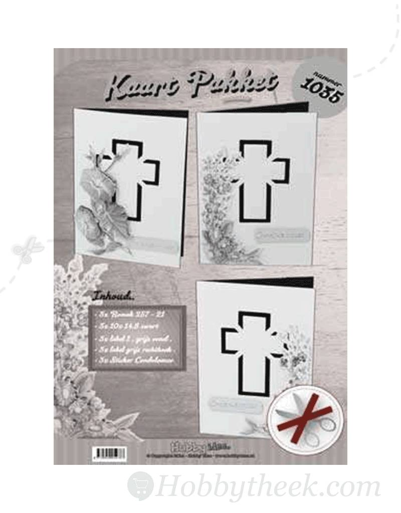 hobby idee condolence card set expression hobbytheek