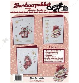 Hobby Idee carte de broderie de Noël mis Hobby Idea