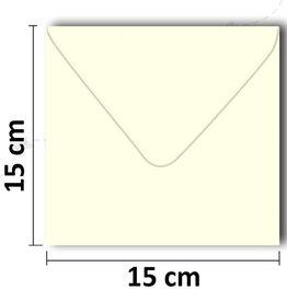 Envelopes square cream 154 * 154 mm