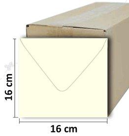 Konvolutter firkantet fløde 16 * 16 cm