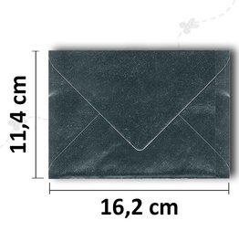 C6 kuvert Sølv