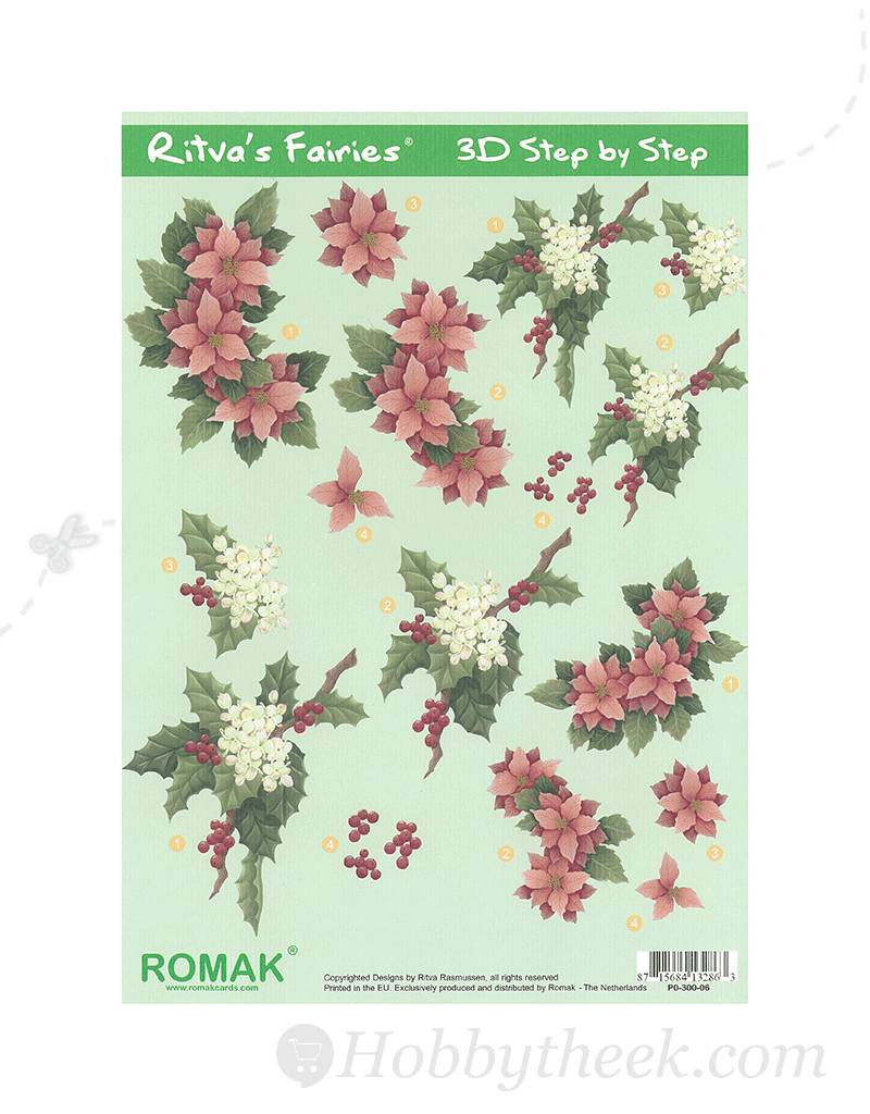 Romak 3D ark Romak Ritva s Fairies jul