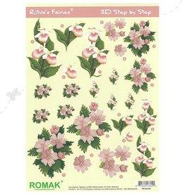 Romak Flower Fairies Feuille 3D Romak Ritva