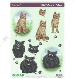 Romak Feuille 3D Romak Karen Cats