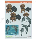 Romak 3D vel Romak Honden Dolfijn