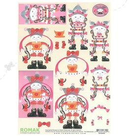 Romak Feuille 3D Romak orientale