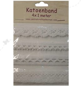 Central Craft Collection Cotton Band 4x1 meters