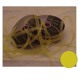 Central Craft Collection 6mm Jaune Organza Ribbon
