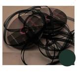 Central Craft Collection 6mm Ribbon Organza Mørkegrøn