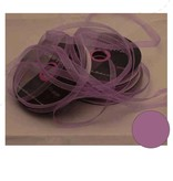 Central Craft Collection 3mm Ribbon Organza Lila