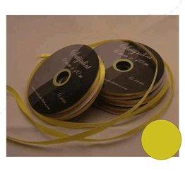 Central Craft Collection 6mm Satin Yellow Ribbon