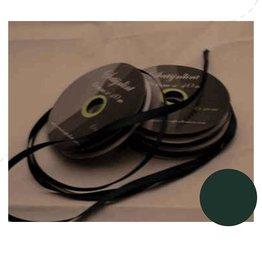 Central Craft Collection 6mm satinbånd Mørkegrøn