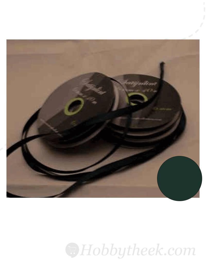 Central Craft Collection 6mm Satin Ribbon Dark Green