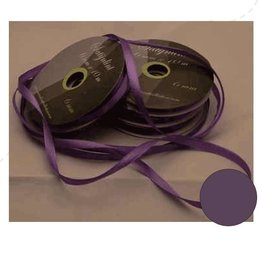 Central Craft Collection 6mm Satin Purple Ribbon