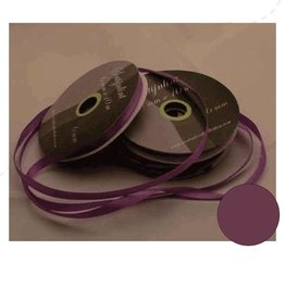 Central Craft Collection 6mm ruban de satin noir lilas