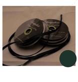 Central Craft Collection 3mm satinbånd Mørkegrøn