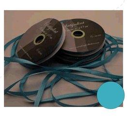 Central Craft Collection 3mm Blå satinbånd