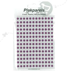 Hobbytheek Paste Beads Lilac Lilac 5mm