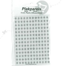 Hobbytheek Paste Beads Silver-Silver 5mm