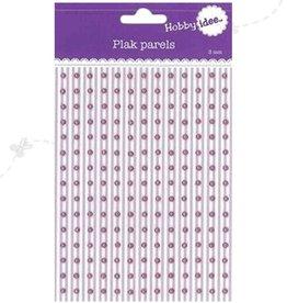 Hobby Idee Plak Parels Roze 3mm