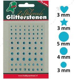Hobbycentraal Selvklæbende Glitter Stones