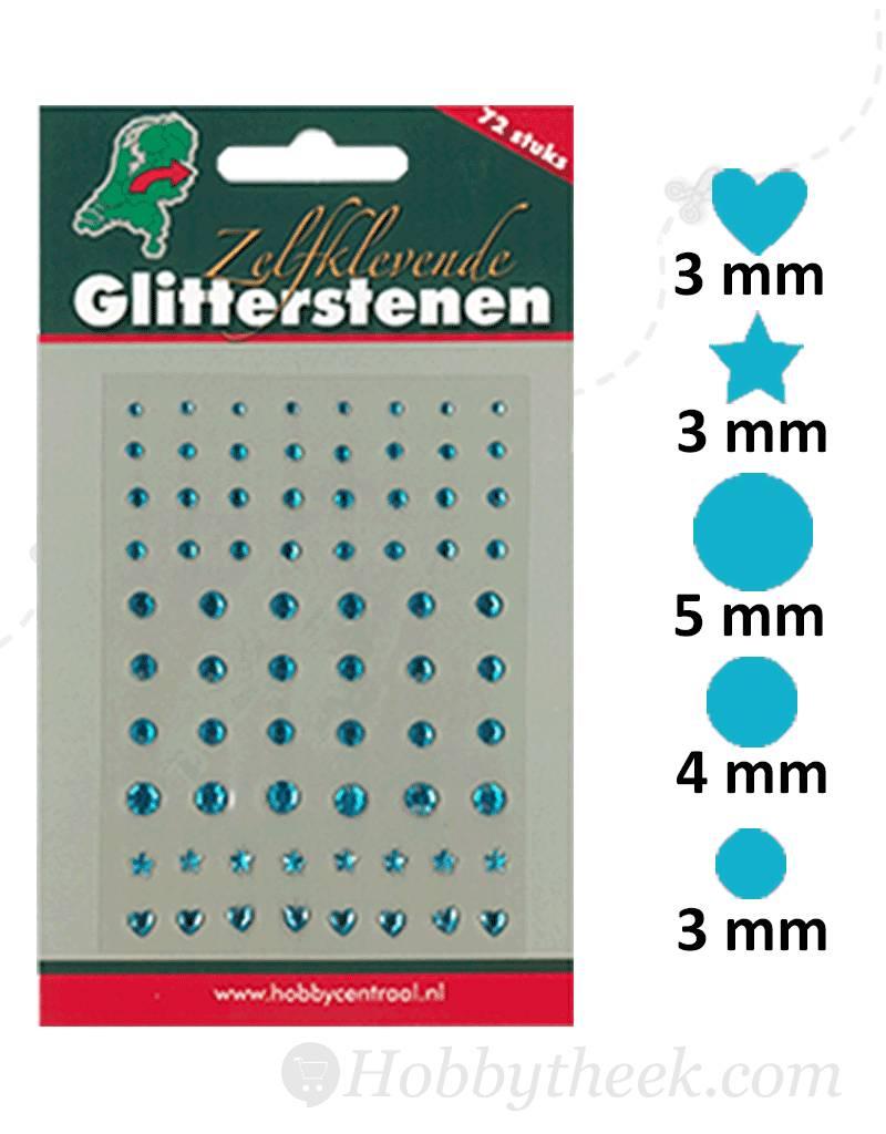 Hobbycentraal Adhesive Glitter Stones