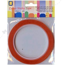 Je Je Produkt Double sided tape extra strong 6mm
