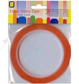 Je Je Produkt Double sided tape extra strong 3 mm